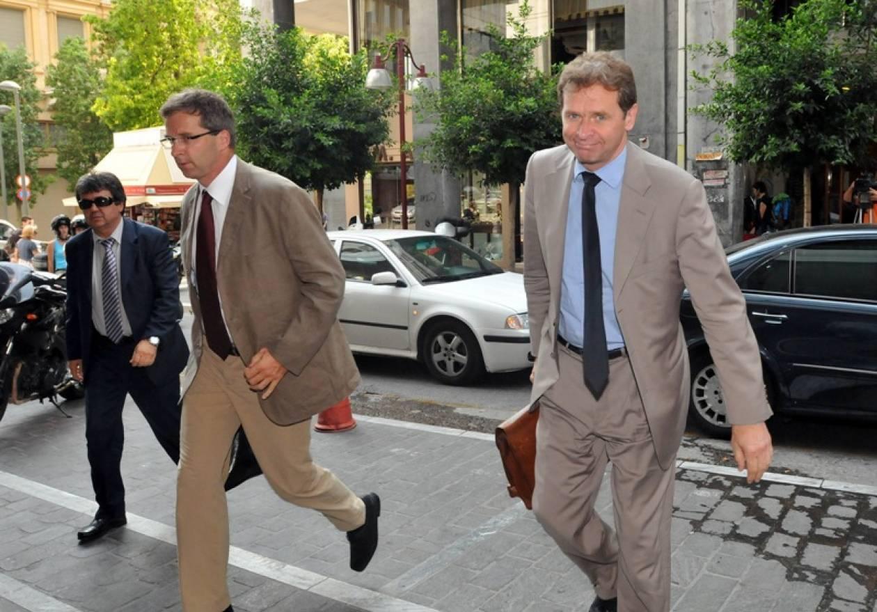 Ολοκληρώθηκε η 2η συνάντηση Βενιζέλου - Ρέππα και τρόικας