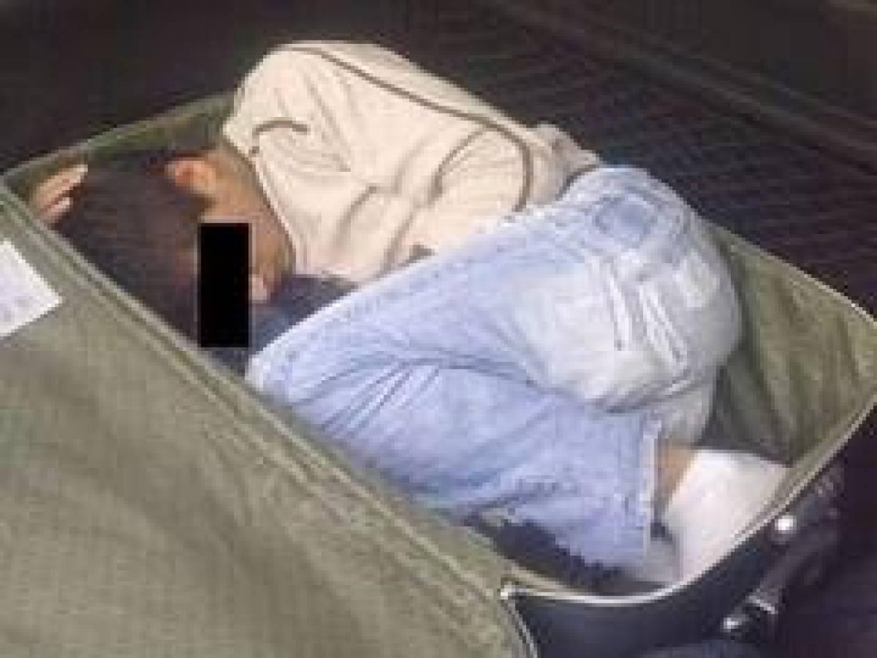 Είχαν κρύψει 8χρονο σε …βαλίτσα!