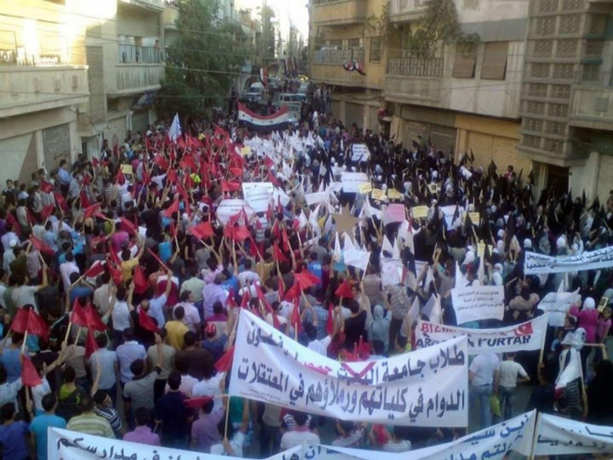 Συρία: Συγκρούσεις λιποτακτών με το στρατό