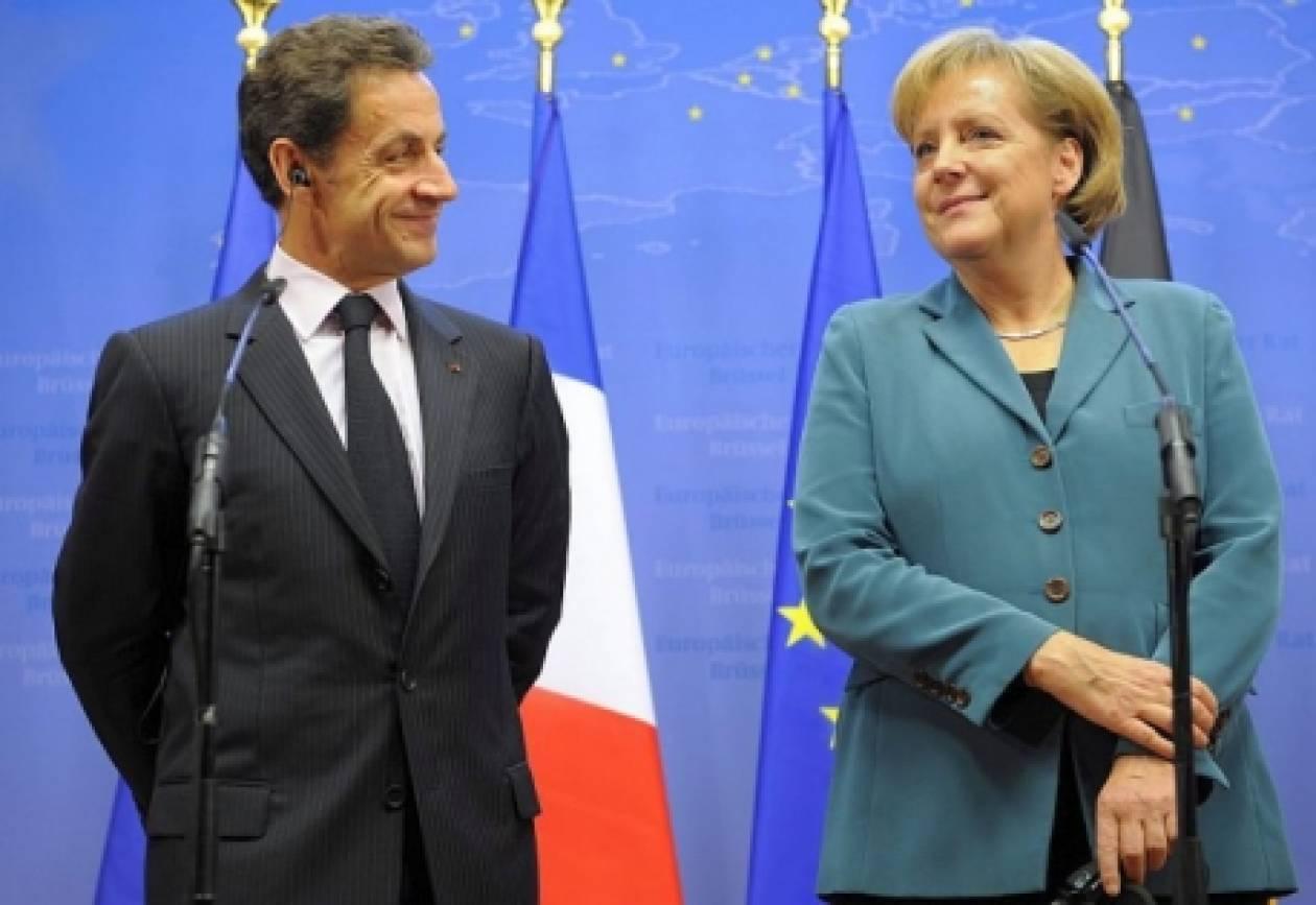 Συνάντηση Μέρκελ-Σαρκοζί για την Ελλάδα