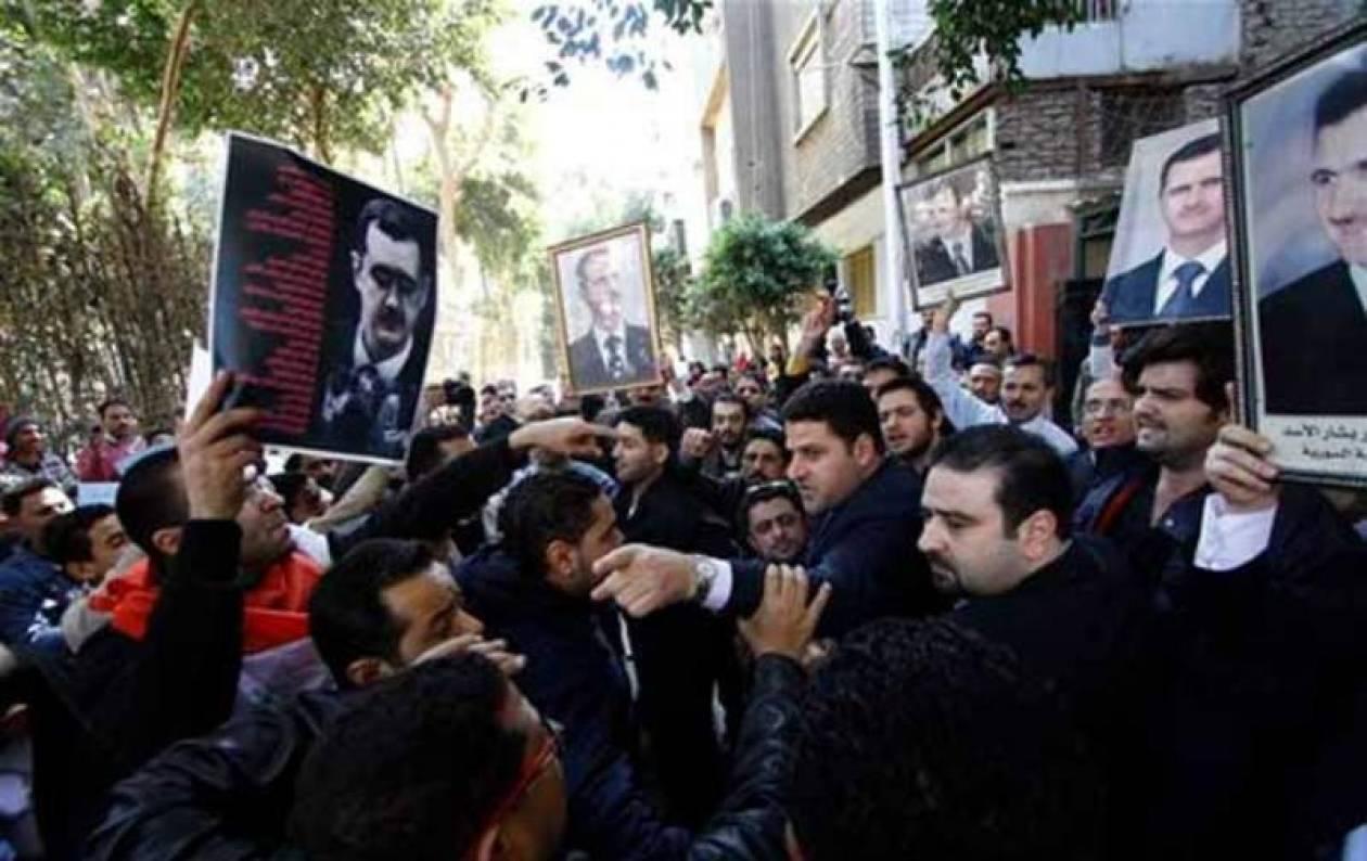 Συρία: Βγήκαν στους δρόμους και οι υποστηριχτές του Άσαντ
