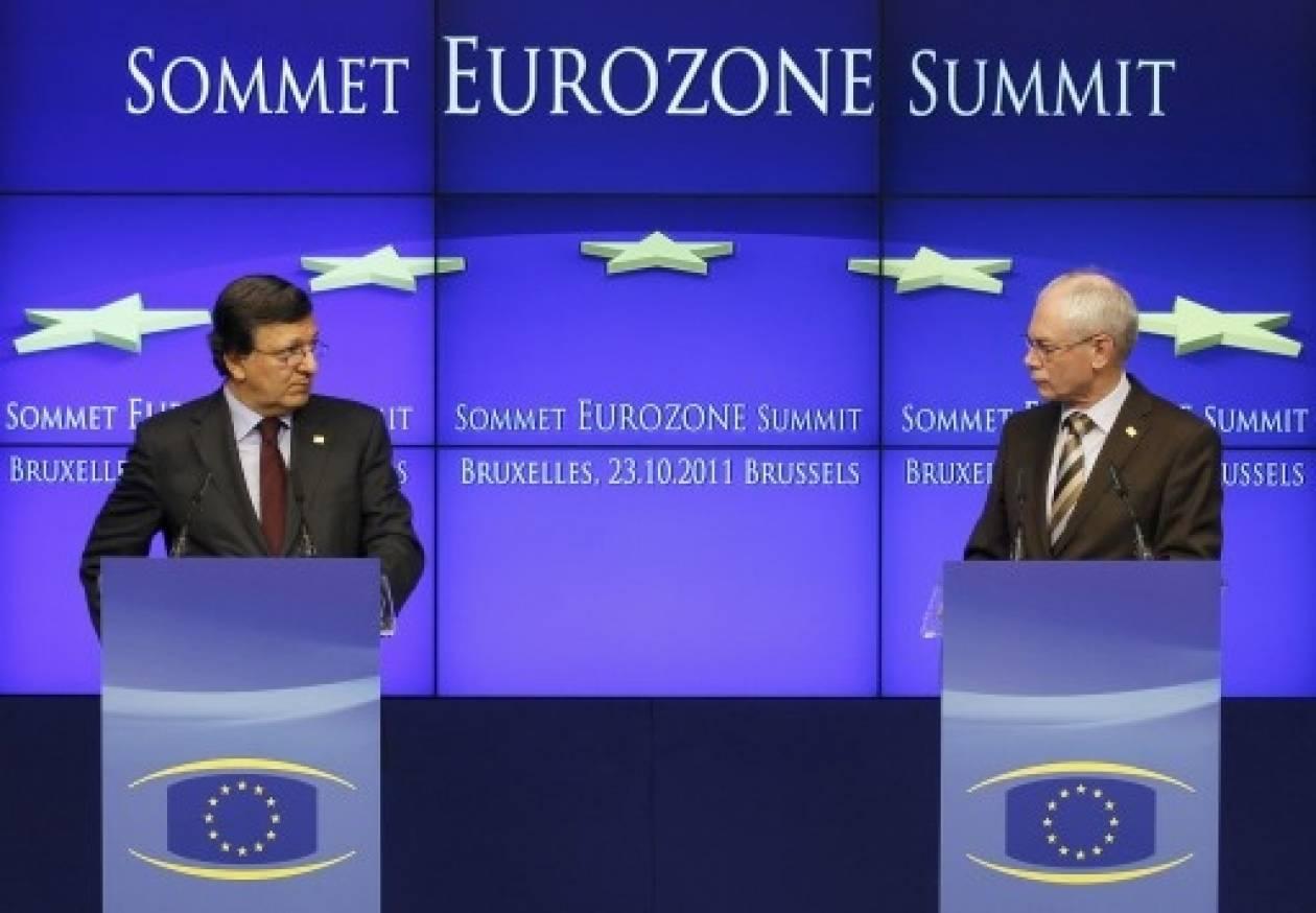 Ρομπάι και Μπαρόζο πιέζουν την Ελλάδα να τηρήσει τις δεσμεύσεις της