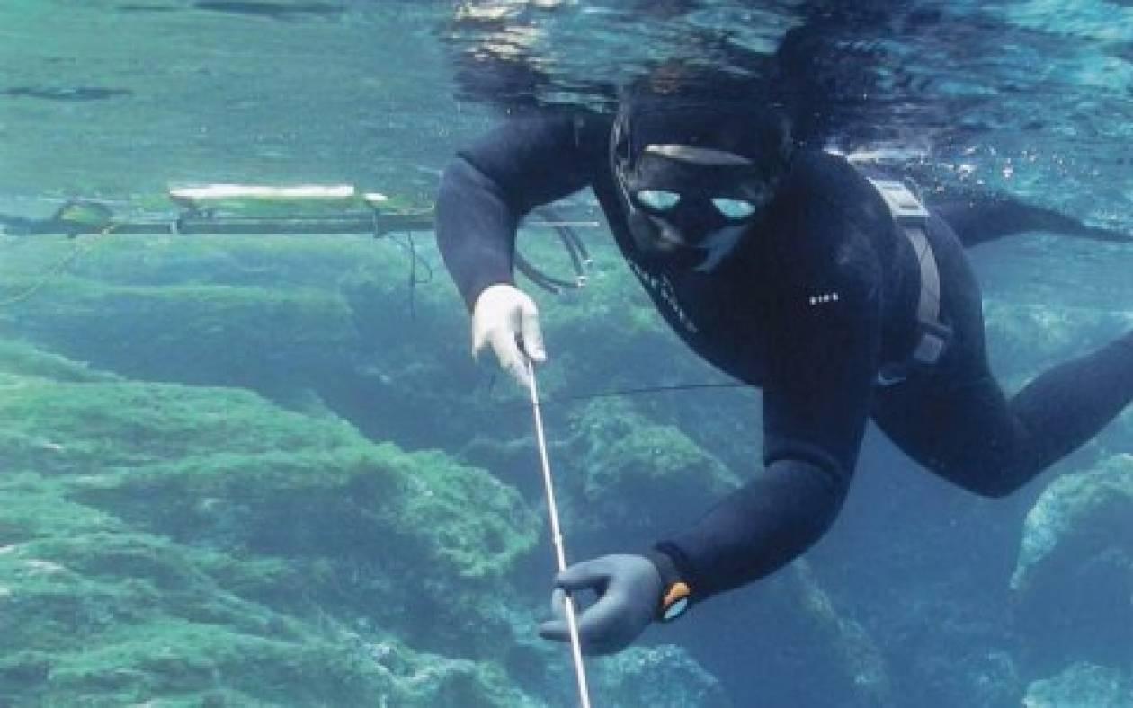Τραυματισμός υποβρύχιου ψαρά στη Λευκάδα