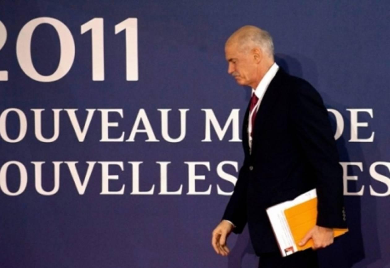 Έντονες γαλλικές πιέσεις για παραίτηση Παπανδρέου