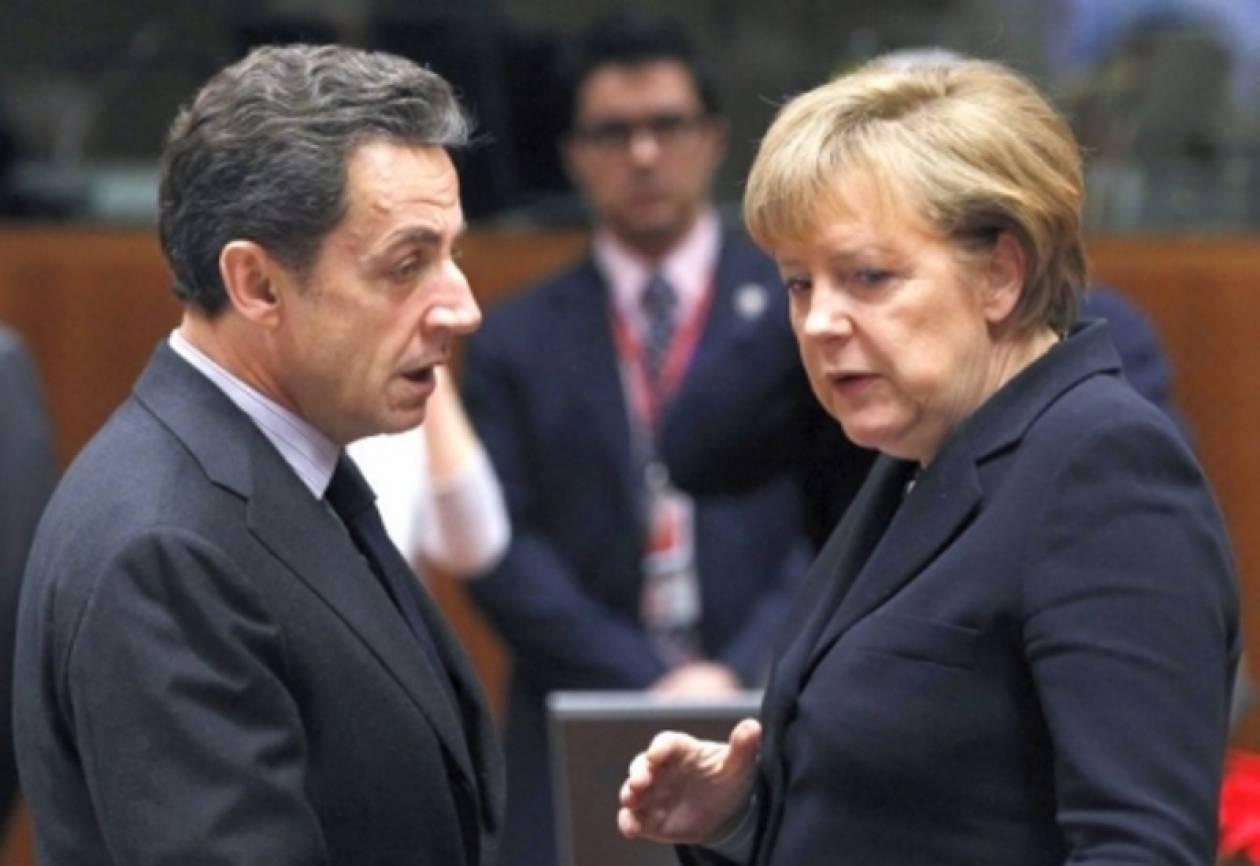 Αναμένεται κοινή δήλωση Μέρκελ-Σαρκοζί