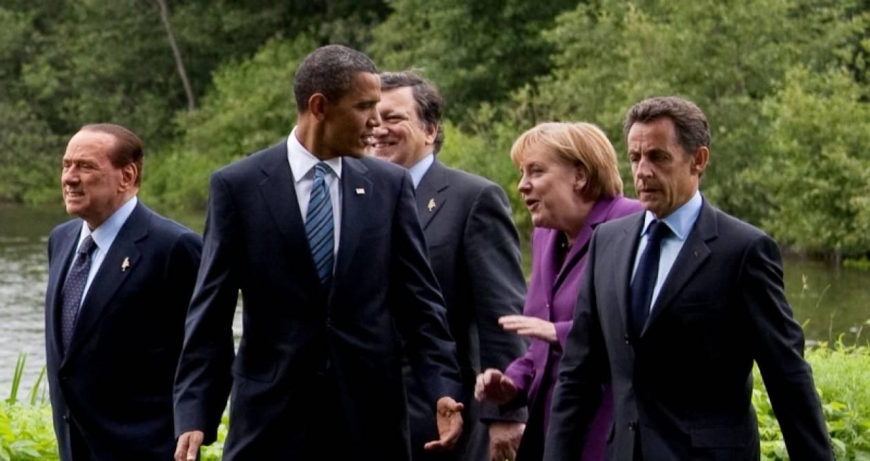 Συνάντηση Ομπάμα-Μέρκελ-Σαρκοζί στις Κάννες