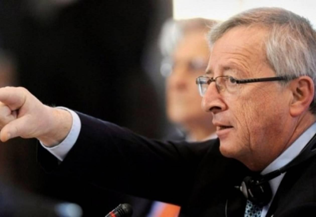Γιούνκερ: Η Ελλάδα δεν μπορεί να μείνει στο ευρώ με όποιο κόστος