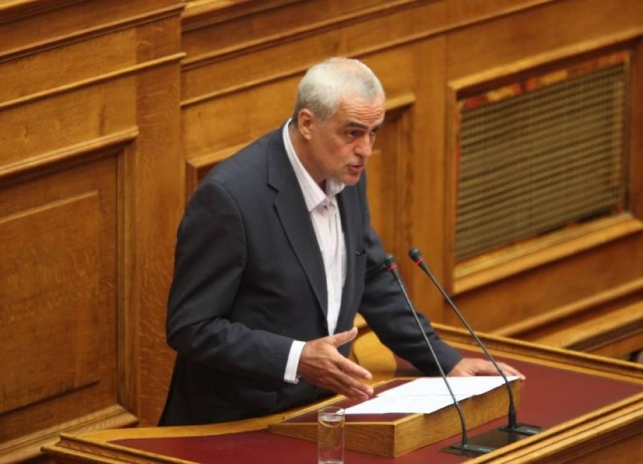 Έκκληση Βουδούρη για κυβέρνηση εθνικής ενότητας