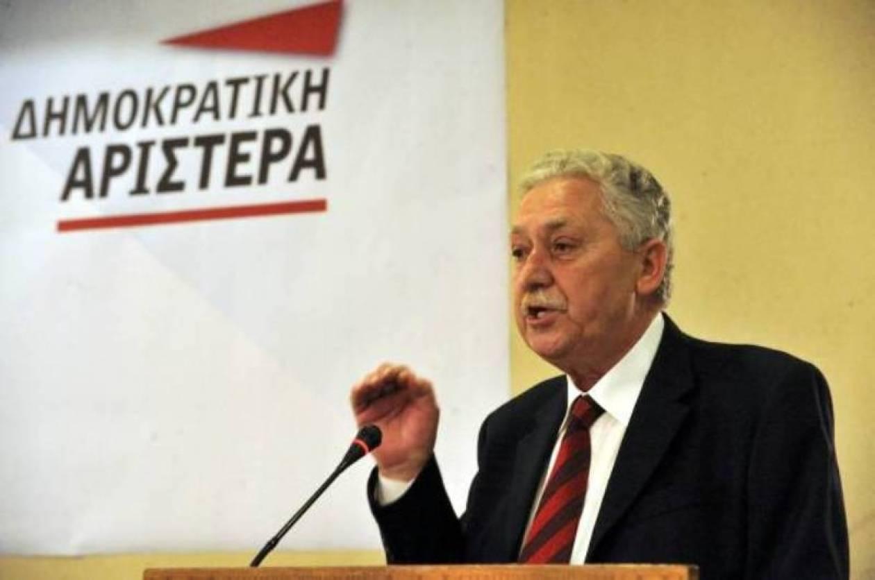 Φ. Κουβέλης: Μόνη λύση οι εκλογές