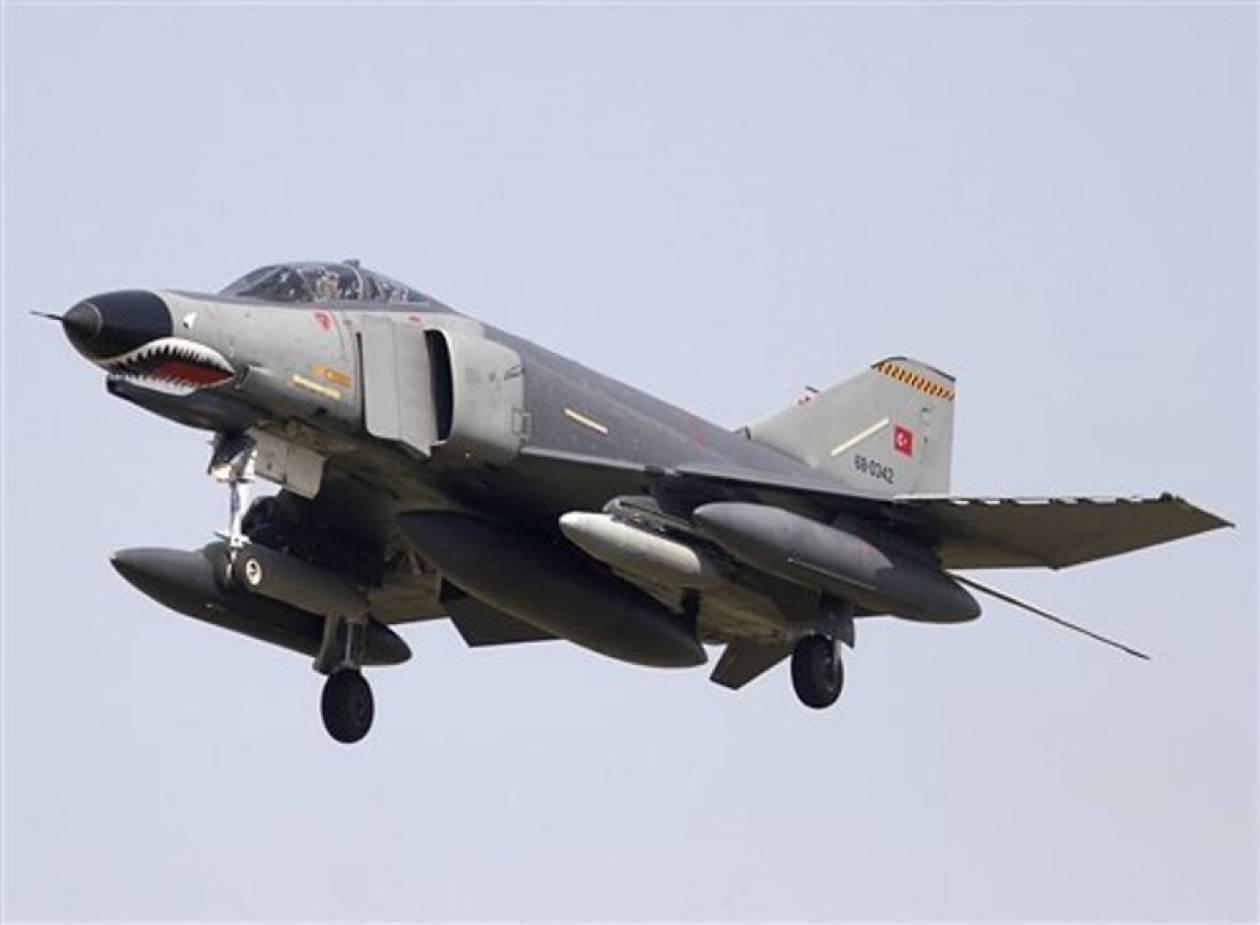 Συντριβή τουρκικού πολεμικού αεροσκάφους
