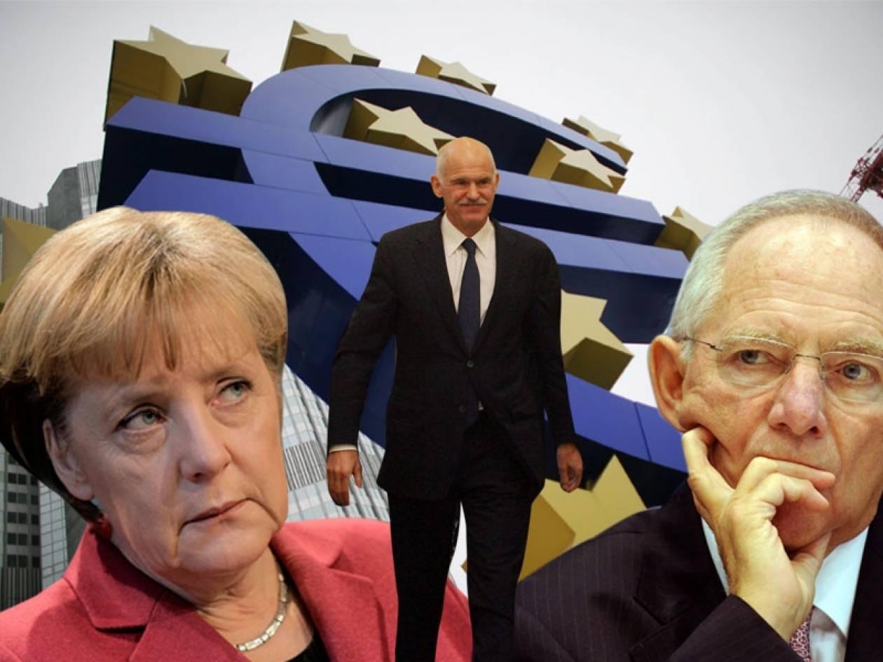 Οι Γερμανοί δικάζουν τον Παπανδρέου