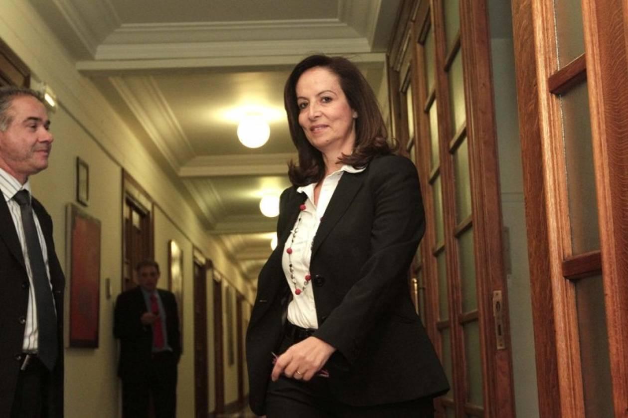 Παρέμβαση Α. Διαμαντοπούλου: Κυβέρνηση Εθνικής Ευθύνης