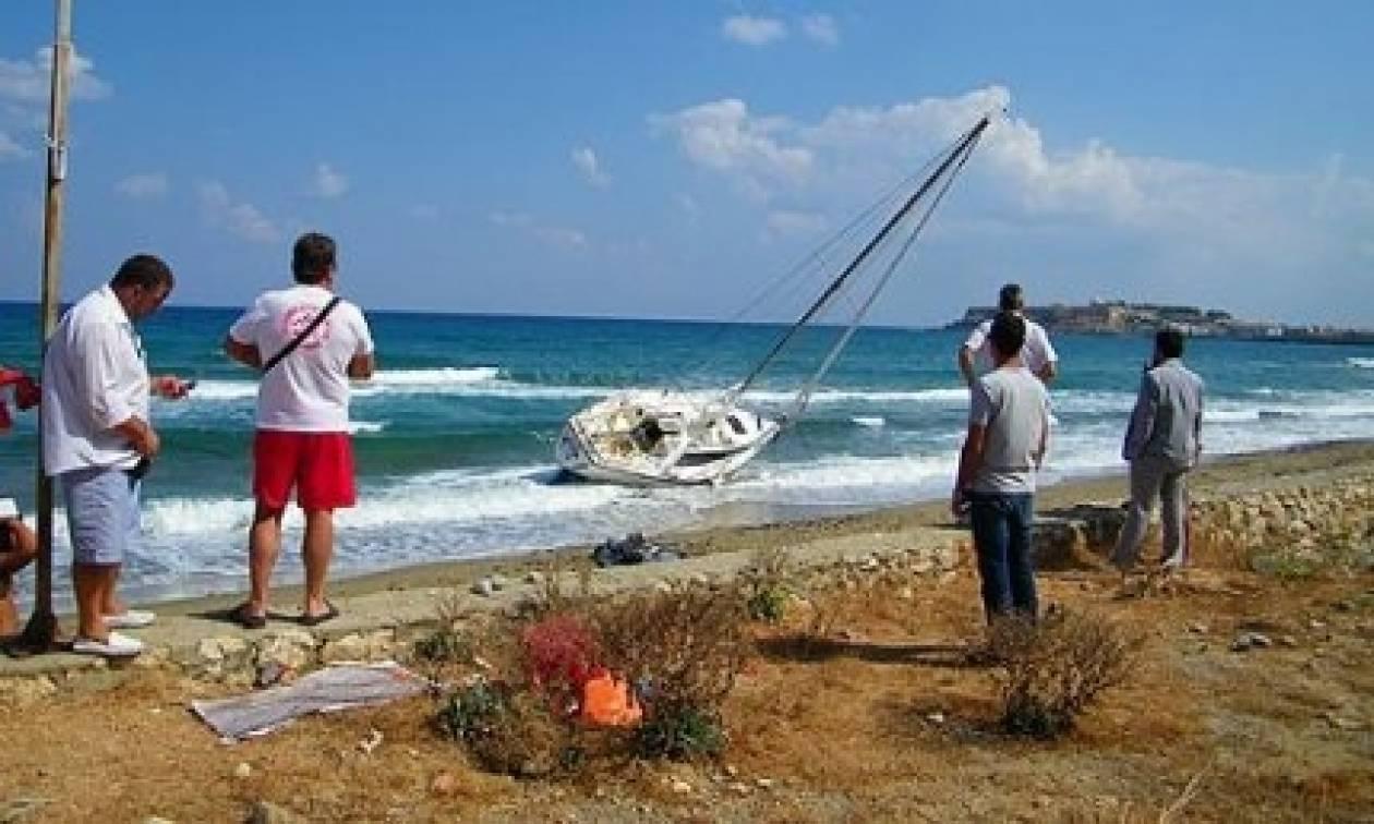 Προσάραξε ιστιοφόρο στις ακτές του Ρεθύμνου