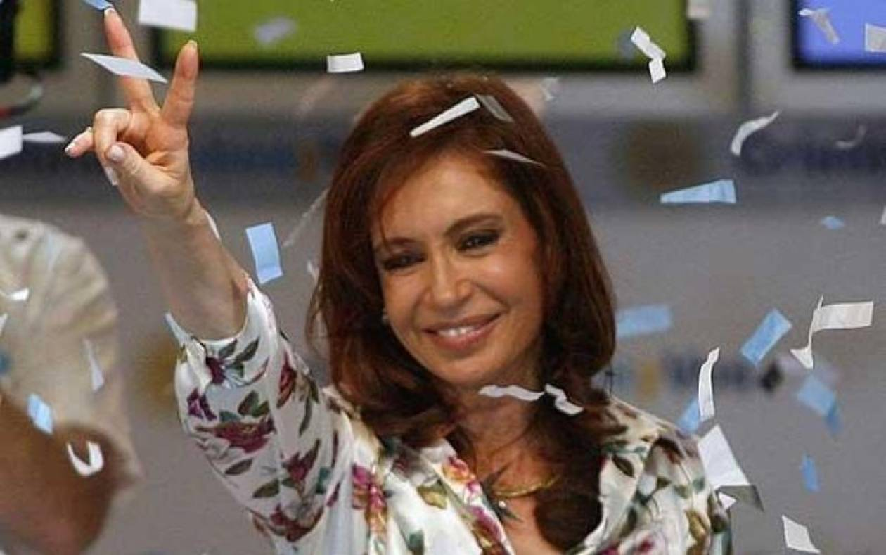 Ξανά πρόεδρος της Αργεντινής η Κριστίνα Κίρσνερ