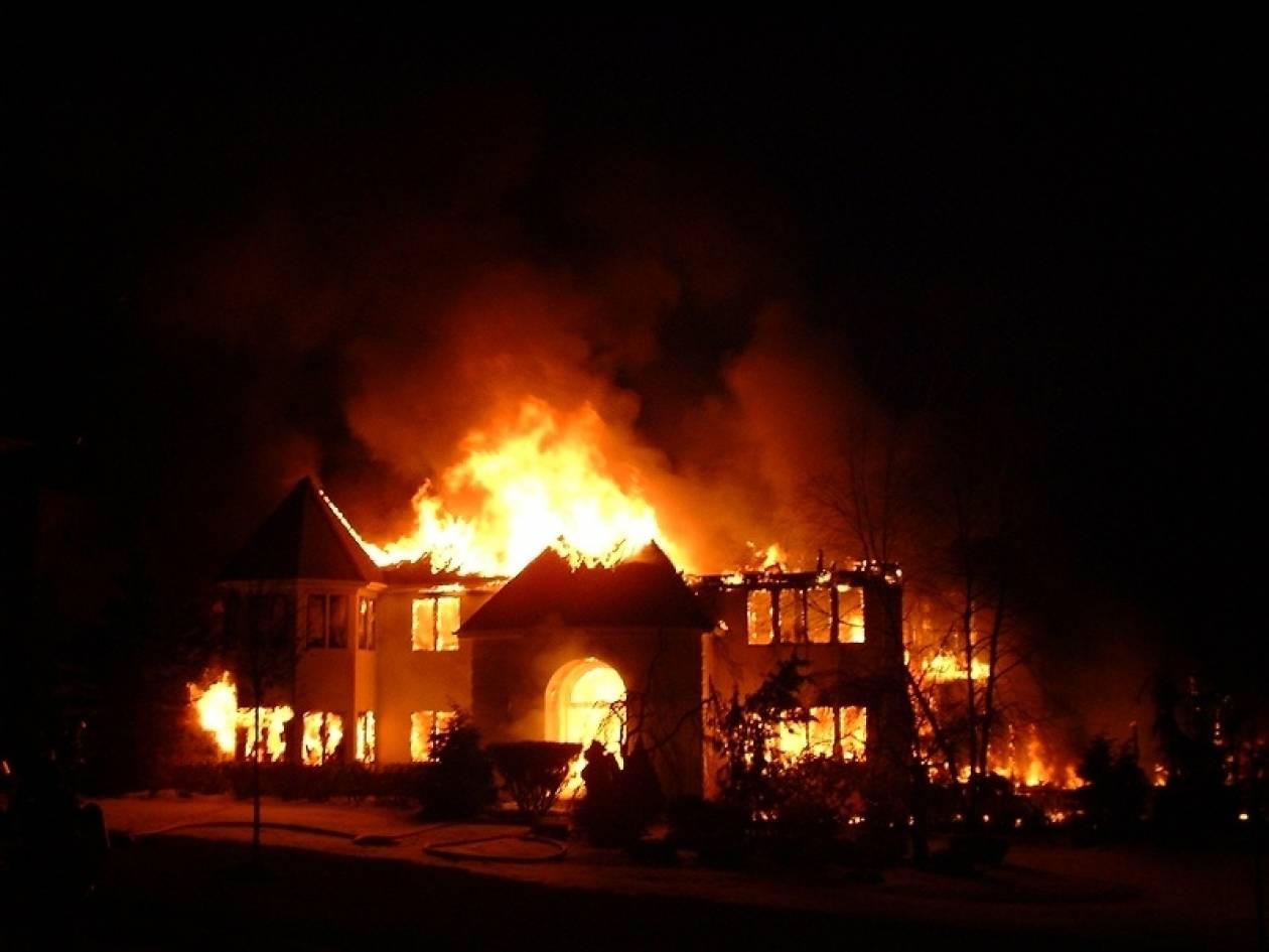 Παρανάλωμα του πυρός μονοκατοικία στην Ζάκυνθο