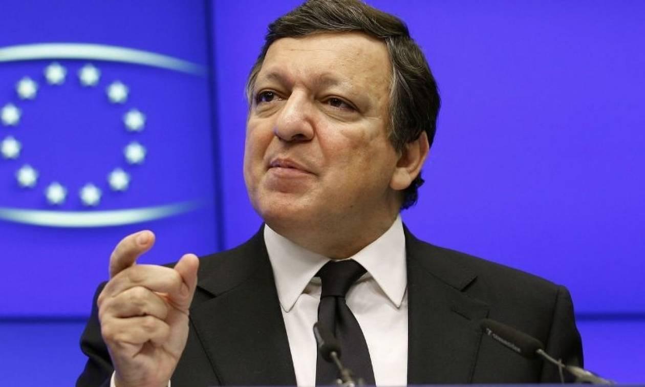 Mπαρόζο: «Θέλουμε η Ελλάδα να μείνει στο ευρώ»