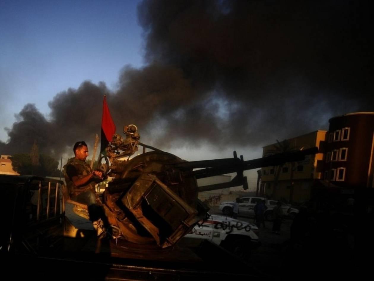 Προς καταστροφή τα χημικά όπλα της Λιβύης