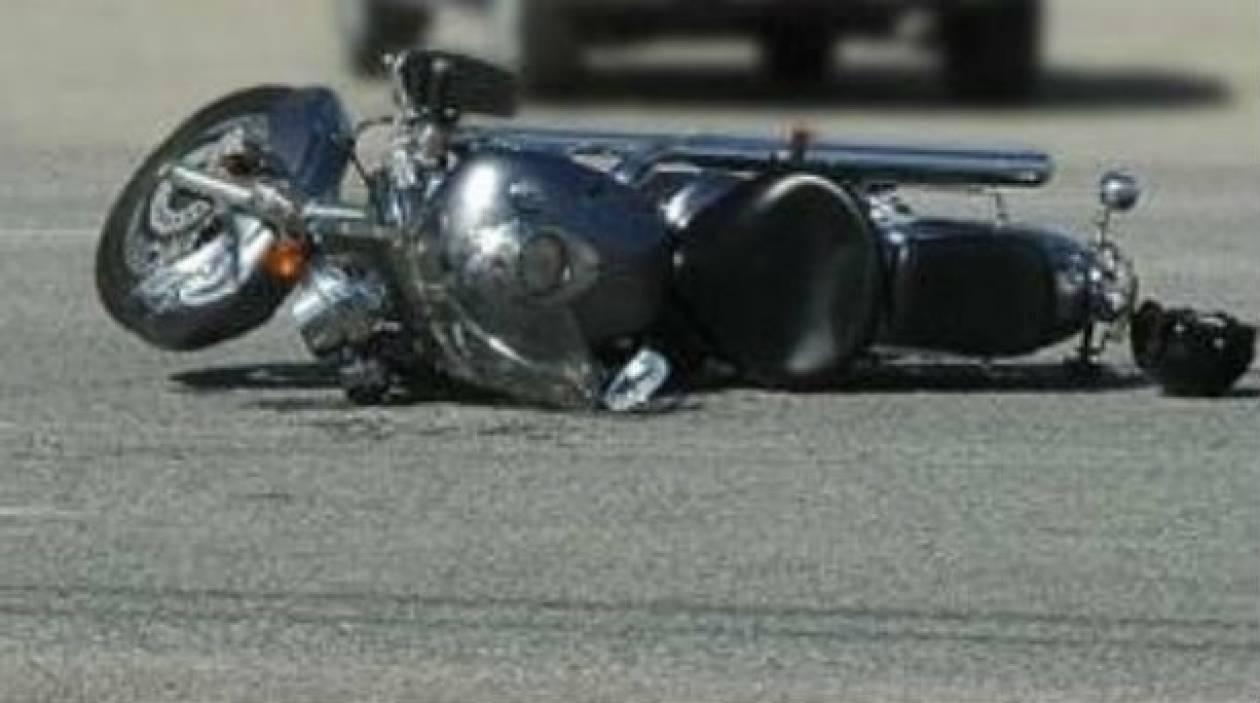«Έσβησε» οδηγός μηχανής στην Πατρών-Κορίνθου