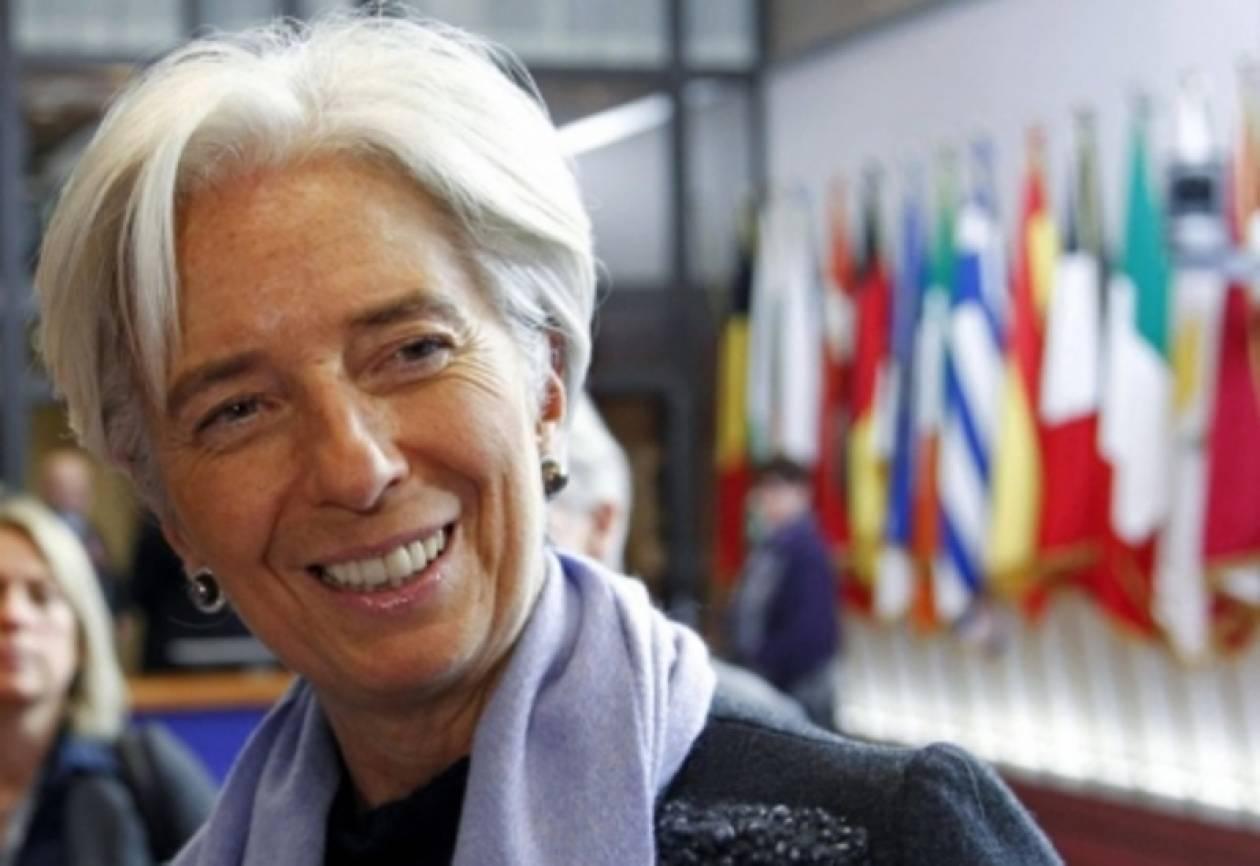 Λαγκάρντ: Σύντομα λύση στην πολιτική κρίση