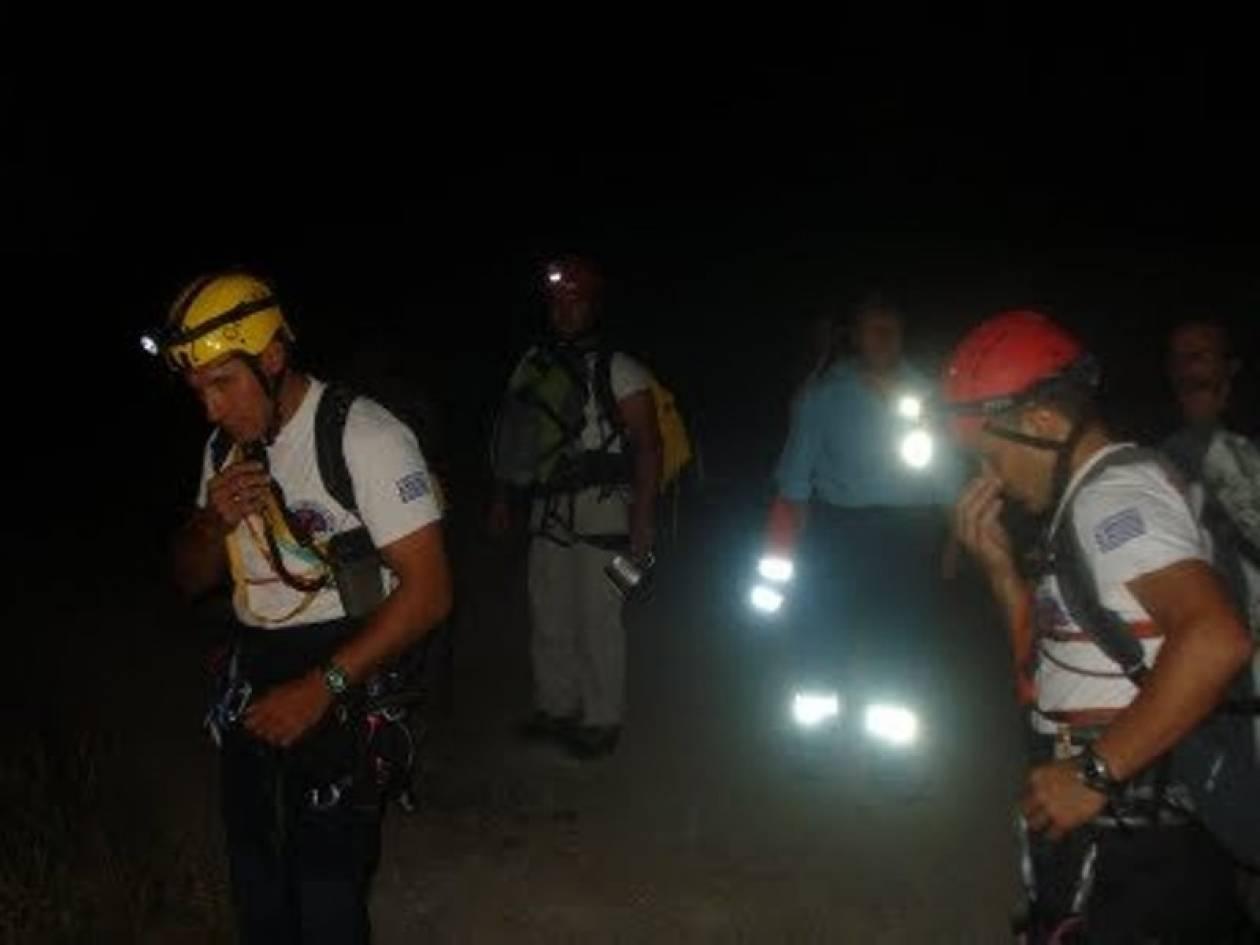 Επιχείρηση διάσωσης κυνηγού στα Χανιά