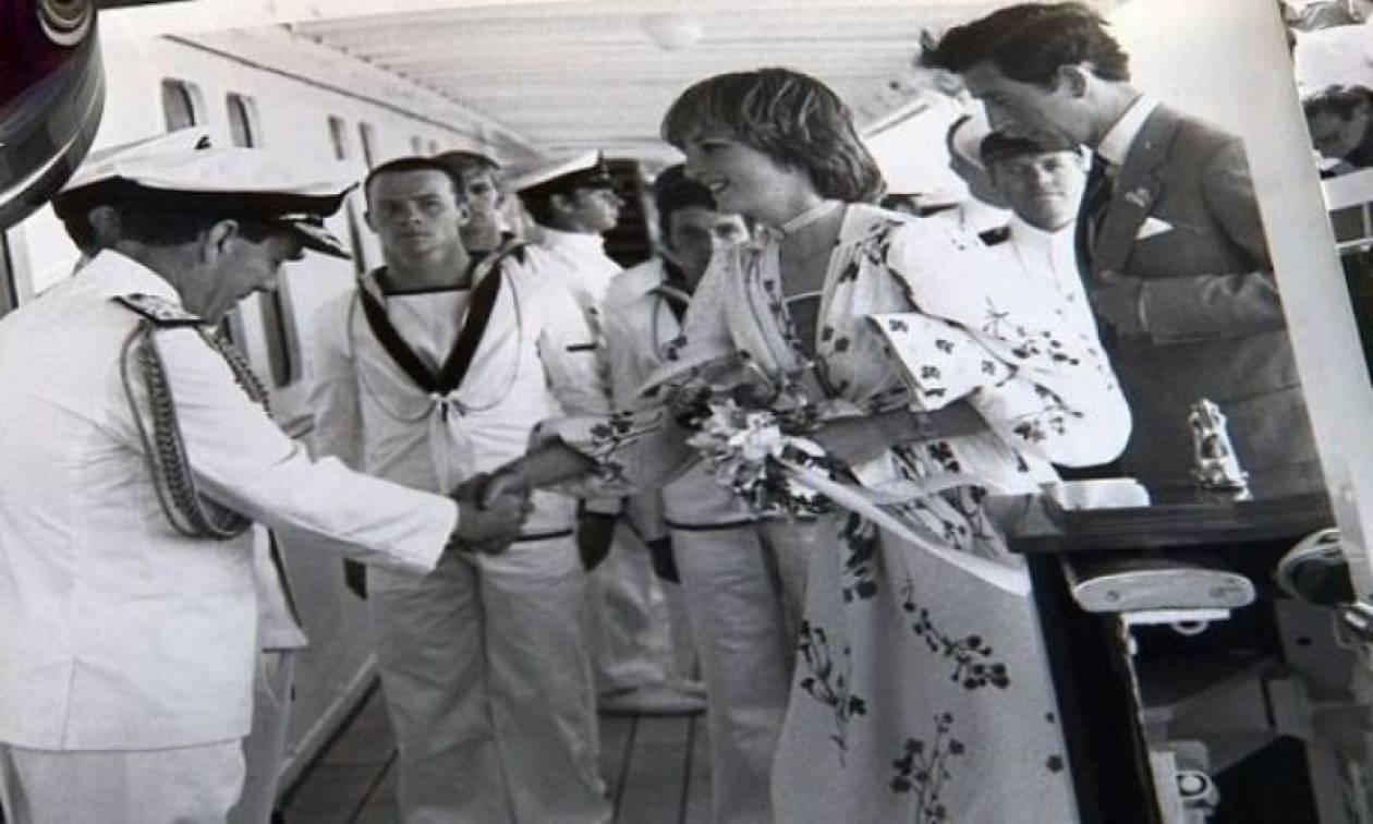 Ο Κάρολος και η Diana στο μήνα του μέλιτος