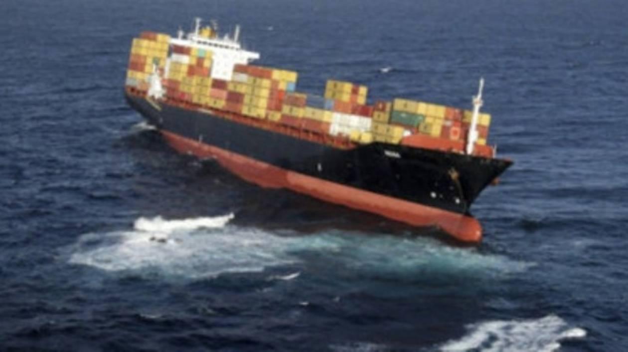 Βλάβη σε πλοίο ελληνικής σημαίας
