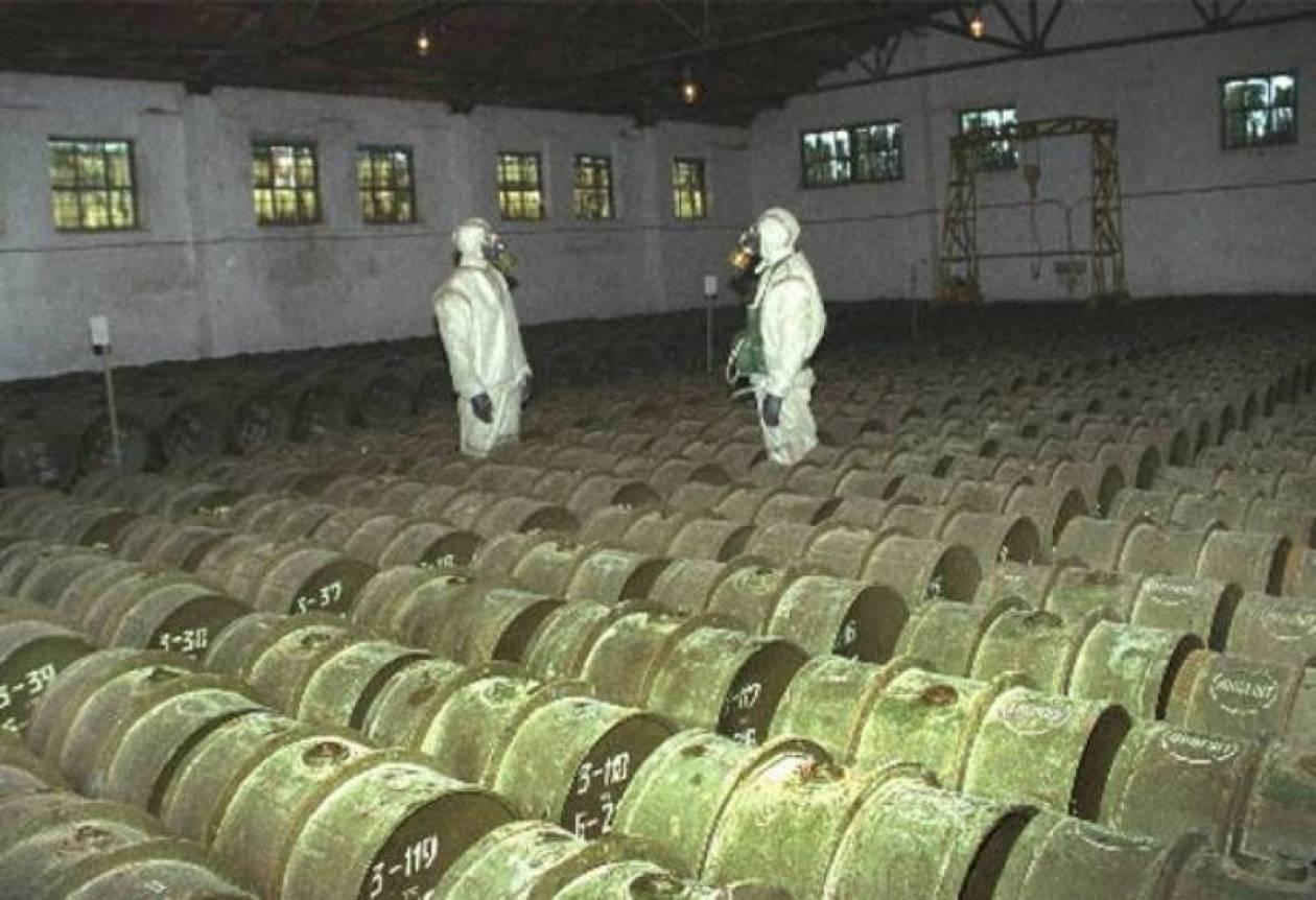 Δεσμεύτηκε για την καταστροφή των χημικών όπλων η Λιβύη