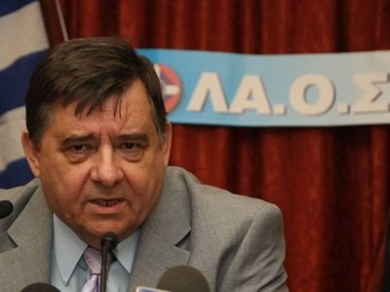 Γ. Καρατζαφέρης: Παπανδρέου και Σαμαράς συμφώνησαν για τη διαδοχή