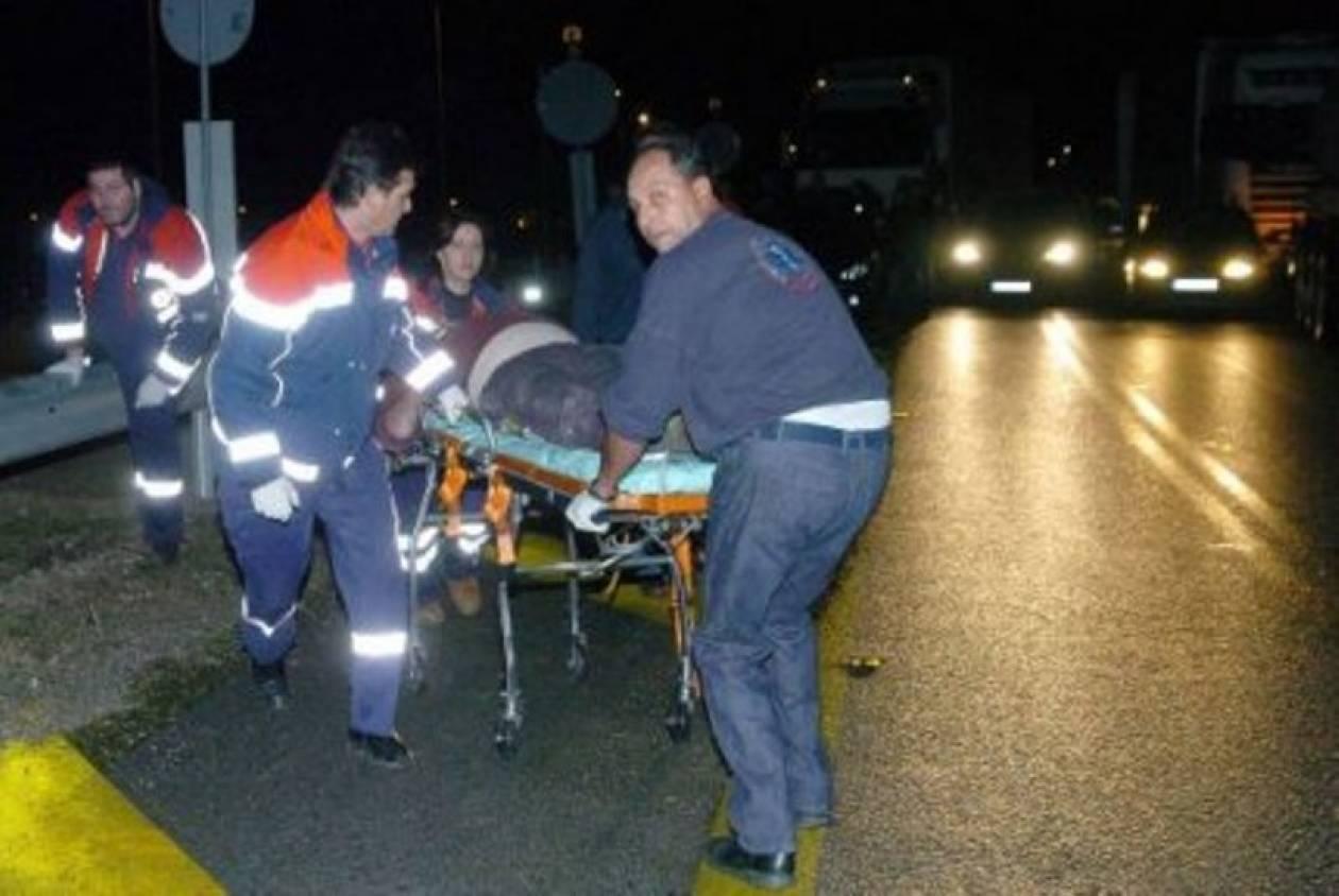 Ένας σοβαρά τραυματίας σε τροχαίο στο Ηράκλειο