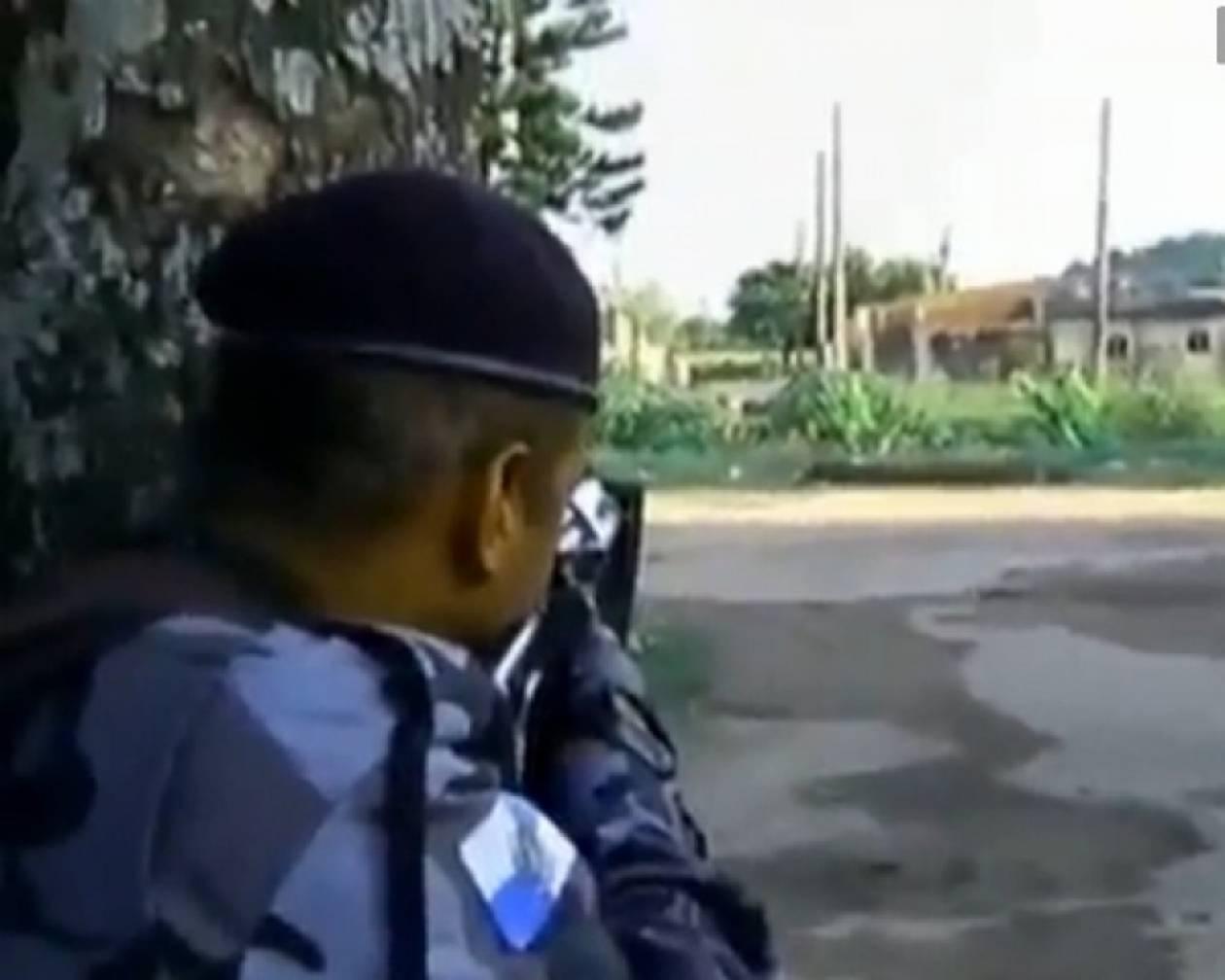 Θάνατος εικονολήπτη από πυροβολισμό on camera