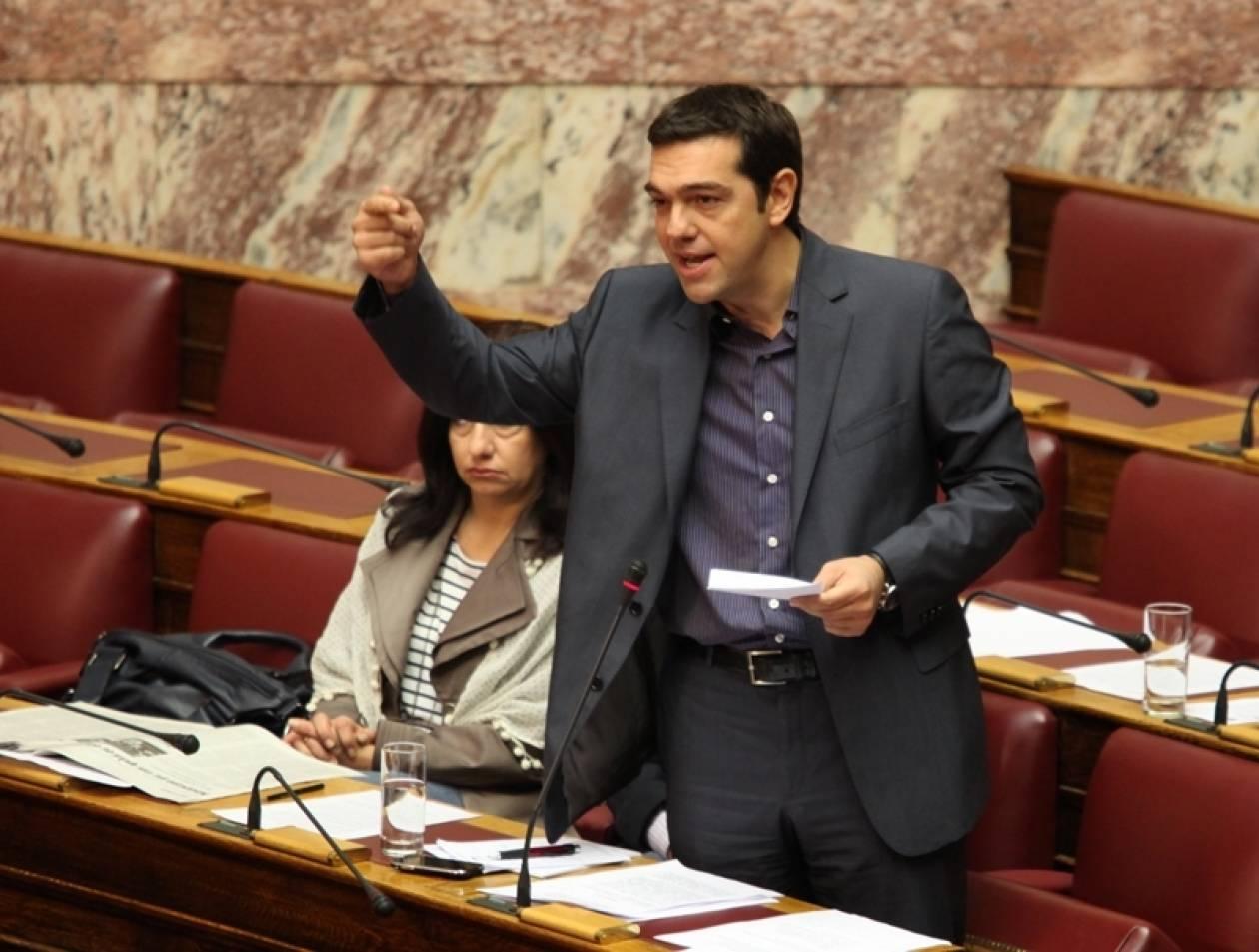 Εκλογές «εδώ και τώρα» θέλει ο Τσίπρας