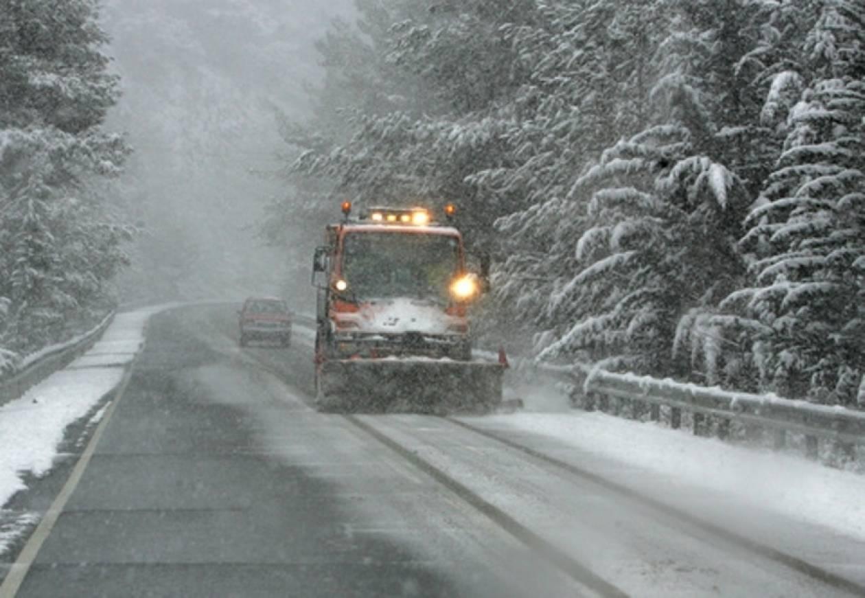 Σύσκεψη στη Θεσσαλονίκη για τα πρώτα χιόνια
