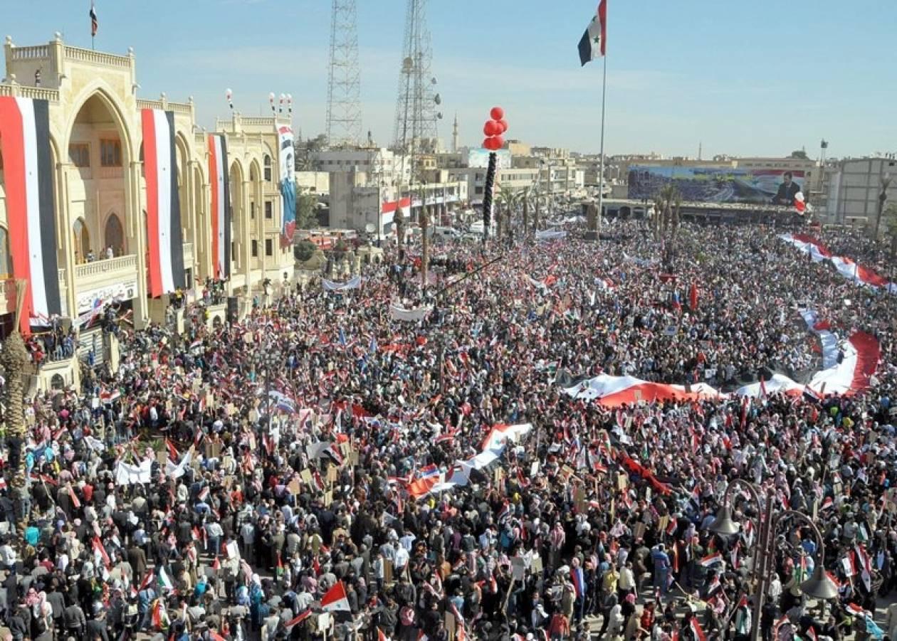 Στρατιωτική επέμβαση ζητά πρώην αντιπρόεδρος της Συρίας