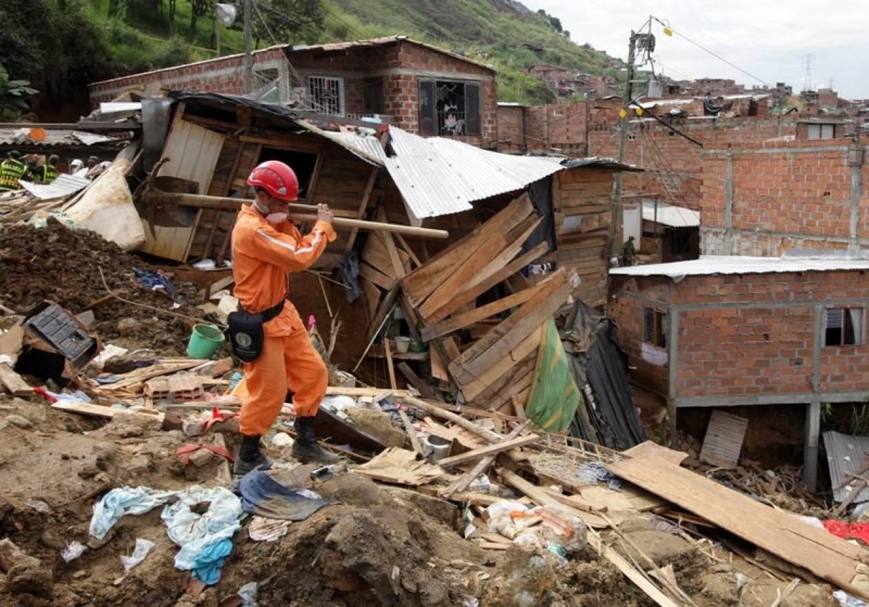 Κολομβία: Στους 35 οι νεκροί της κατολίσθησης