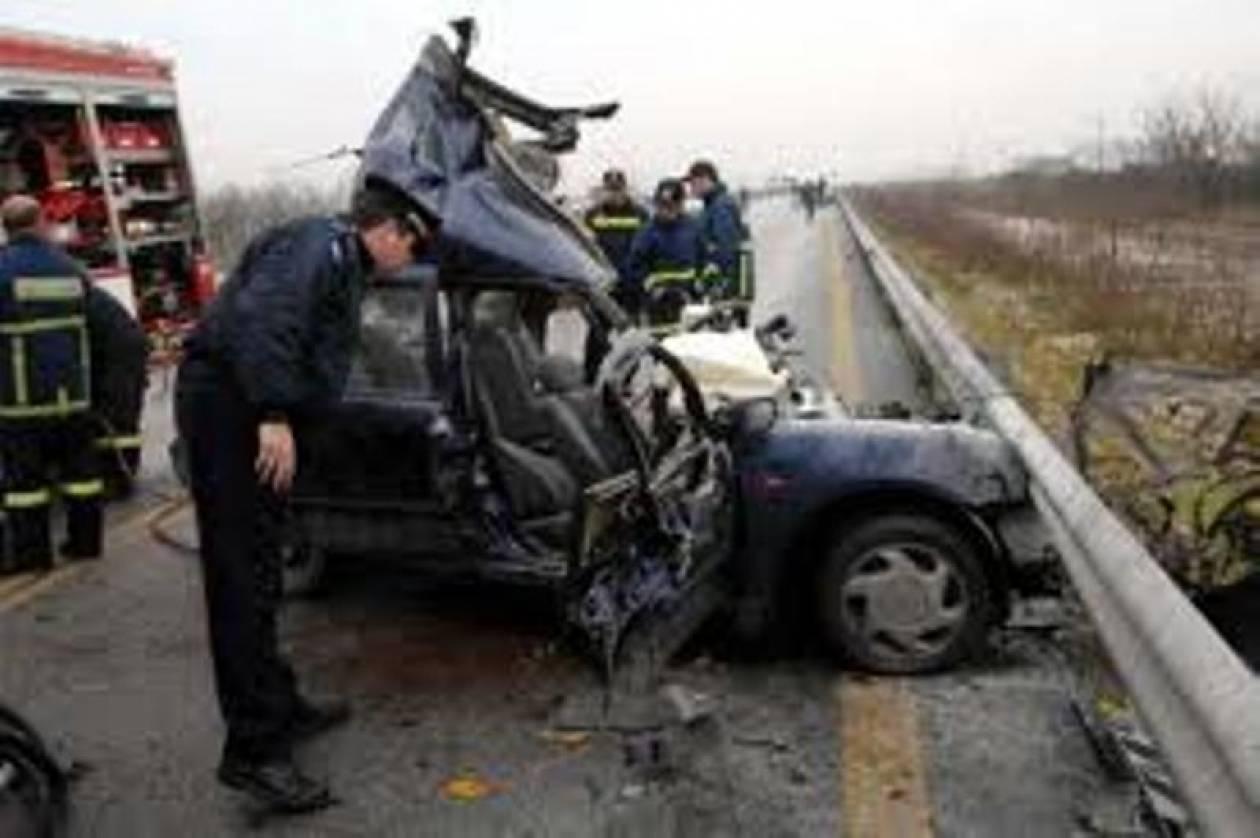 Ένας νεκρός και τρεις τραυματίες σε τροχαίο