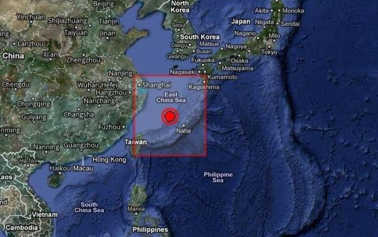 Σεισμός 6,9 Ρίχτερ μεταξύ Ιαπωνίας και Ταιβάν