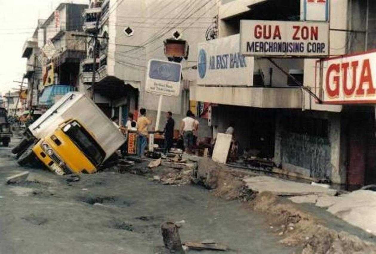 Σοβαρές ζημιές από το σεισμό στις Φιλιππίνες