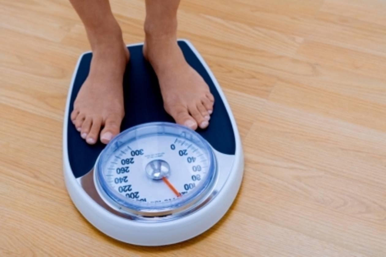 Κρατήστε σταθερό το βάρος σας