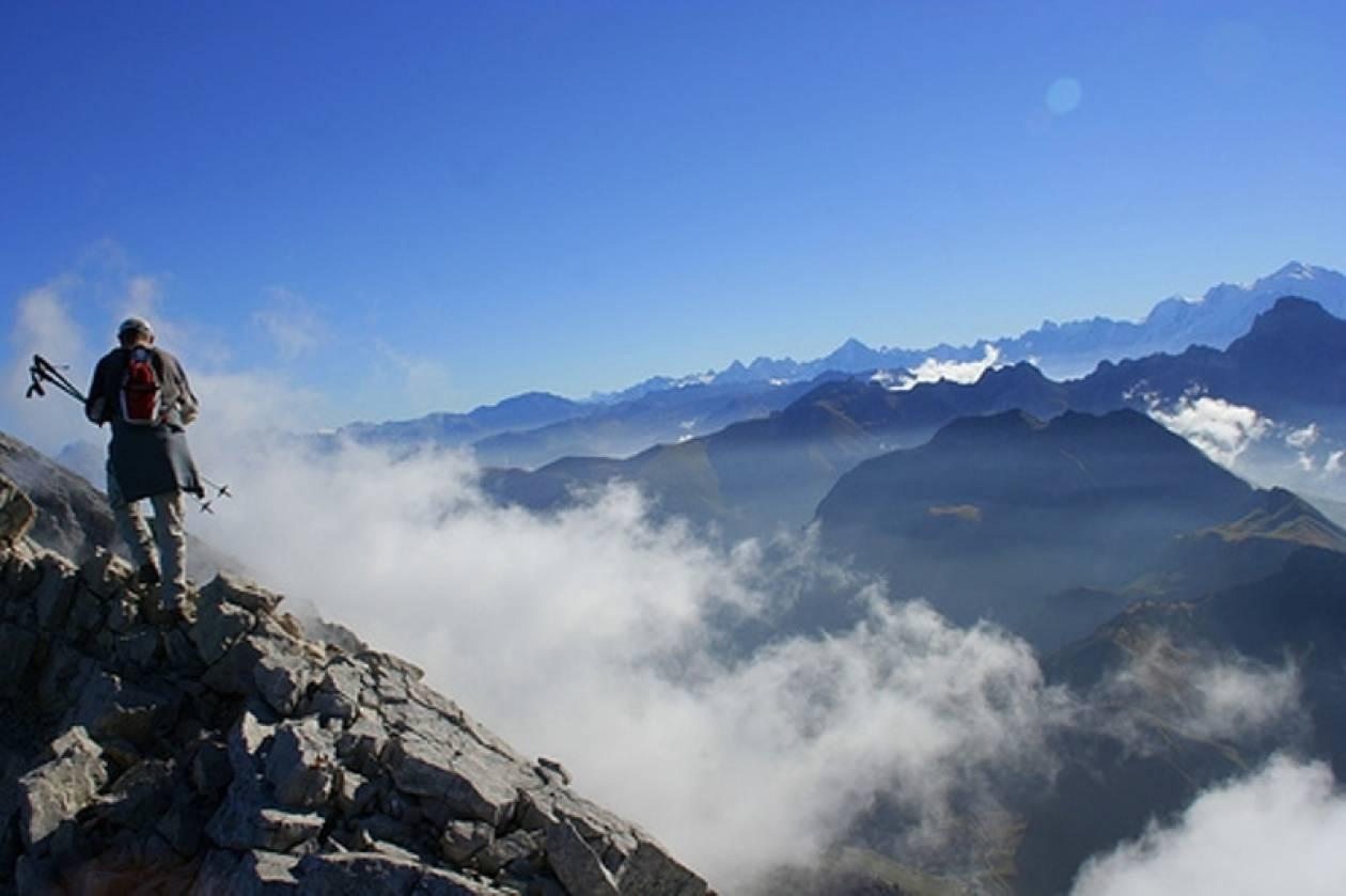 Παγιδευμένοι για πέμπτη ημέρα στις Άλπεις δύο Γάλλοι ορειβάτες