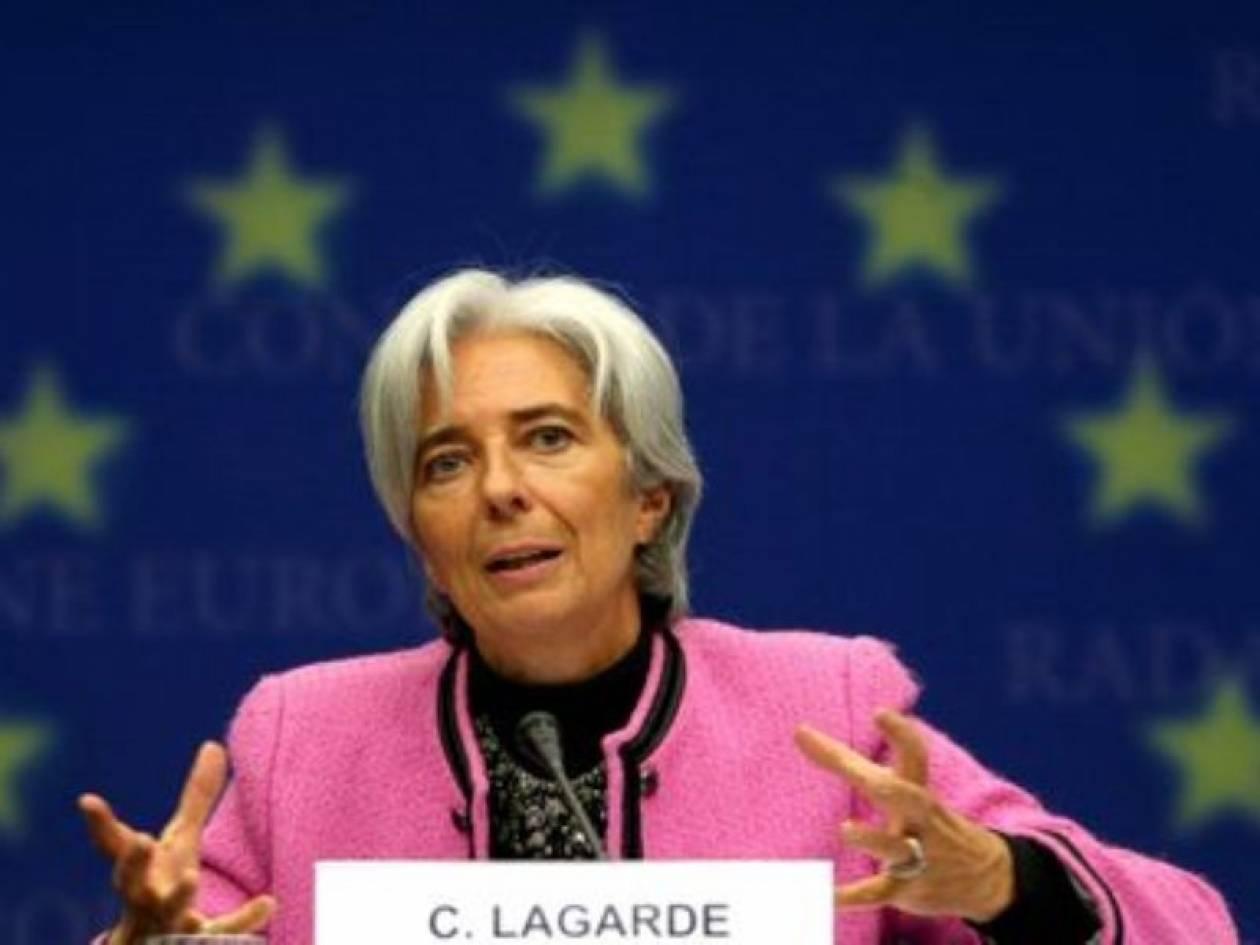 Λαγκάρντ: Πρέπει να ξεκαθαριστεί η πολιτική κατάσταση στην Ελλάδα