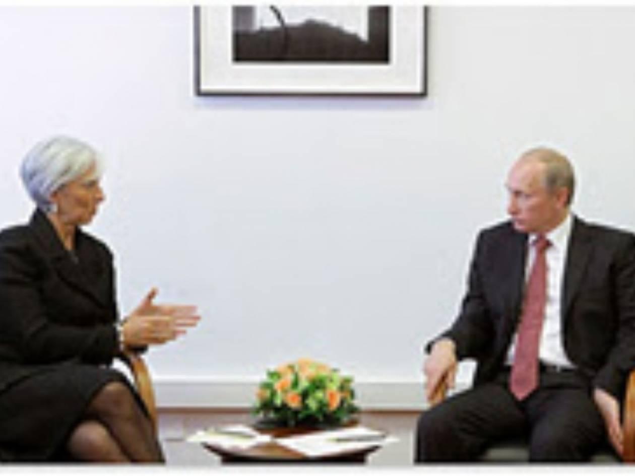 Πρόθυμη η Ρωσία να αυξήσει χρηματοδότηση στο ΔΝΤ