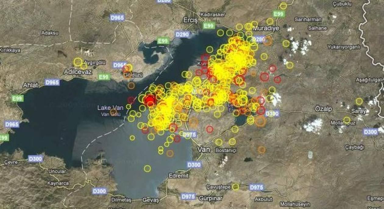 Ισχυρός μετασεισμός στην ανατολική Τουρκία