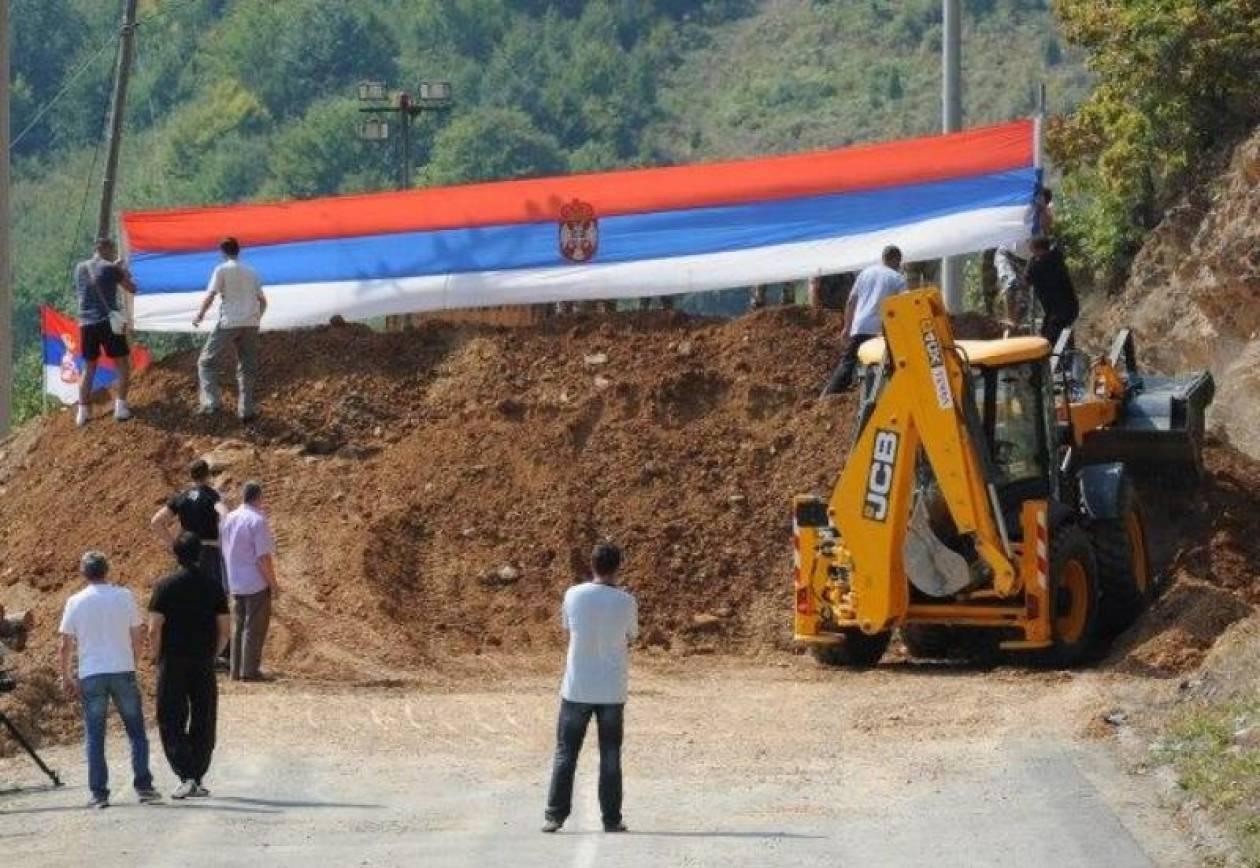 Στον έλεγχο της KFOR διάβαση στο βόρειο Κόσοβο