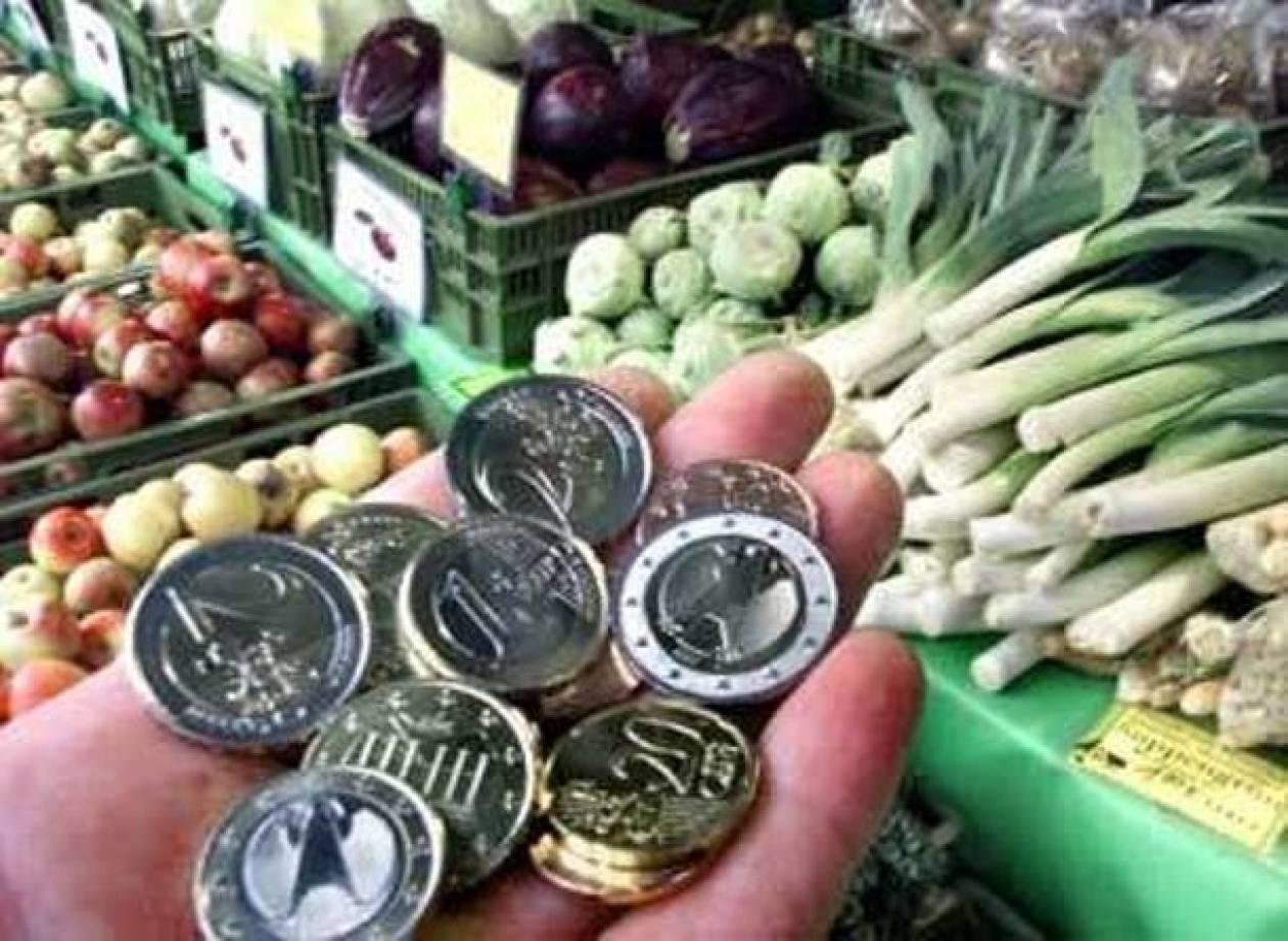 Οριακή επιβράδυνση για τον πληθωρισμό