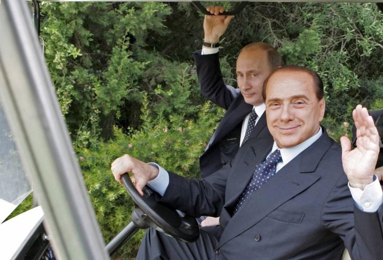 Η Ρωσία χαιρετίζει την «πολιτική βούληση» του Μπερλουσκόνι