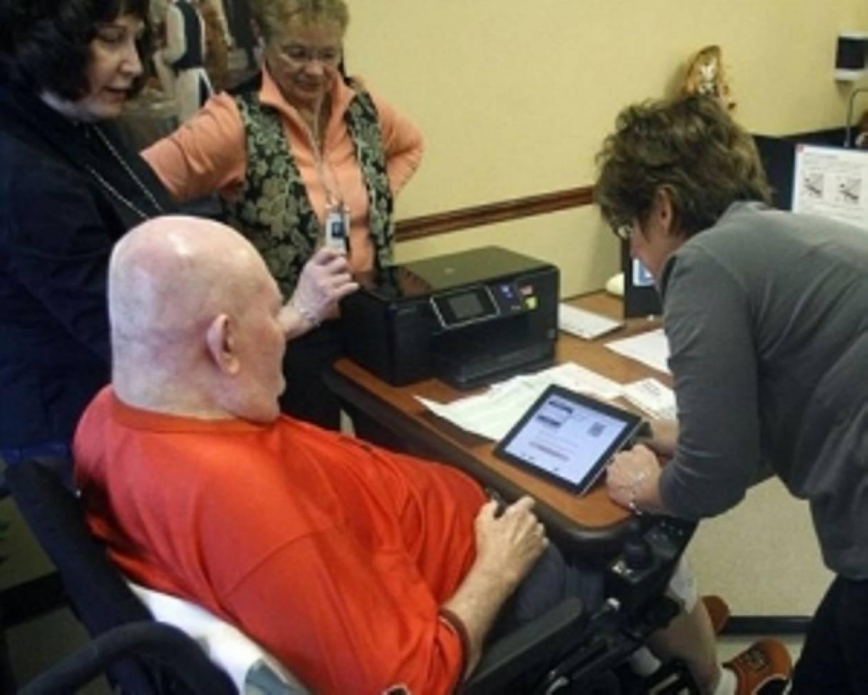 Εκλογές με iPad αντί για ψηφοδέλτια!