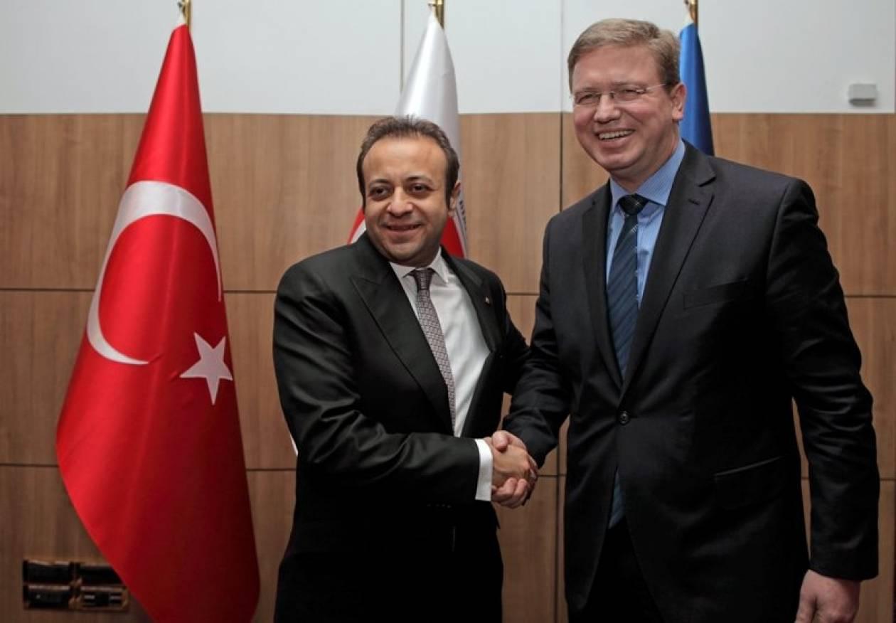 Προσπάθεια προσέγγισης Τουρκίας-ΕΕ