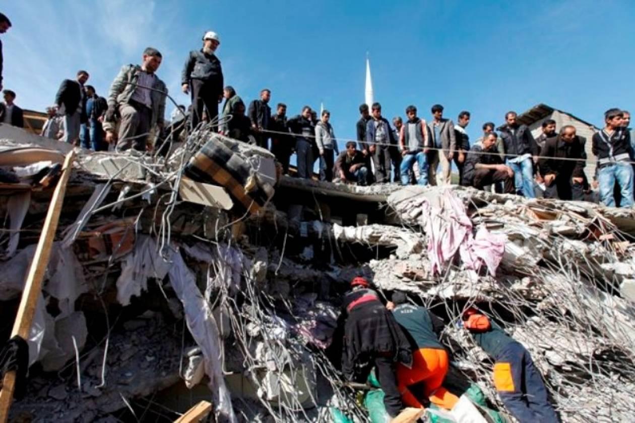 Τουρκία: Νέα σεισμική δόνηση γκρεμίζει κτήρια