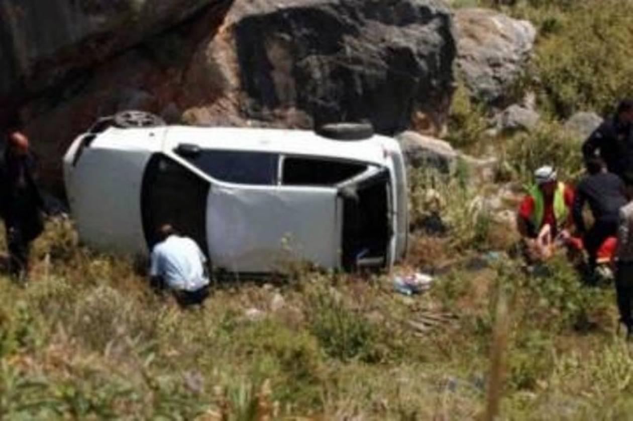 Οικογενειακή τραγωδία σε τροχαίο στην Ναύπακτο