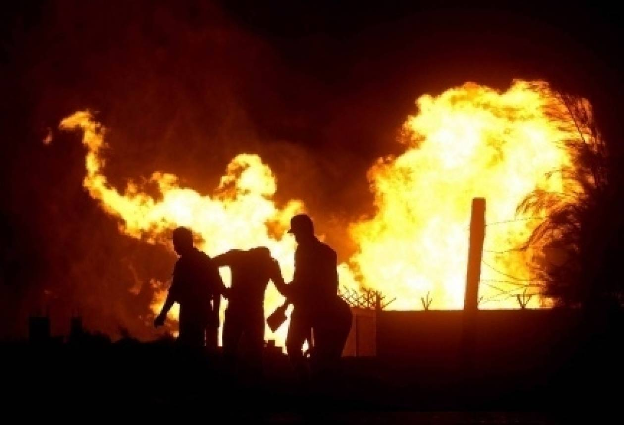 Έκρηξη για έκτη φορά σε αγωγό αερίου του Ισραήλ